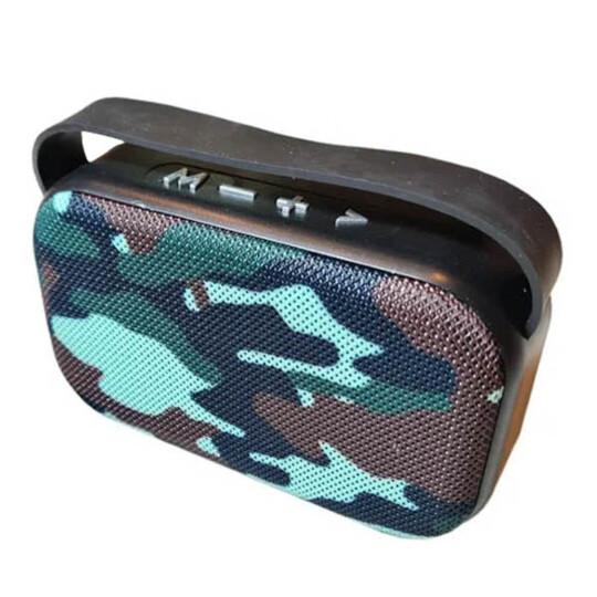 Mini Caixa de Som Bluetooth Multimídia USB/FM/SD - 03343 - YS7