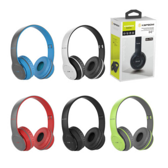 Headphone Bluetooth Estéreo SD/FM Colorido - KA-916