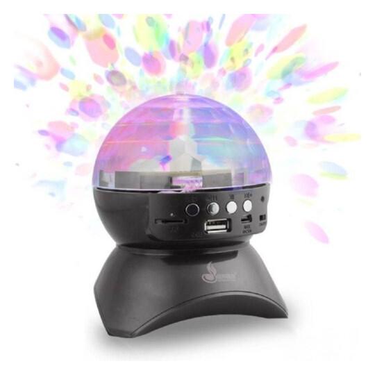 Caixa de Som Globo Bluetooth Com Led Dj Usb Fm Sd Modelo Exbom - CS-A24BT