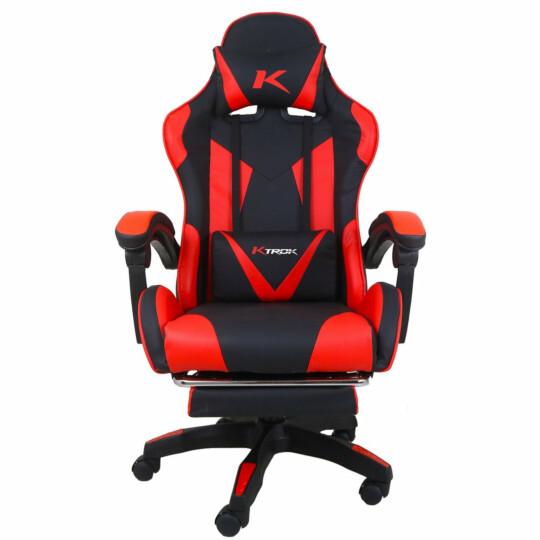 Cadeira Gamer Ktrok ProSeat Giratória Retrátil Vermelha - KT-PROSEAT-VM