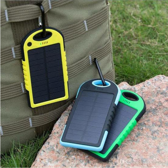 Carregador Portatil Energia Solar Power Bank Exbom - 03679