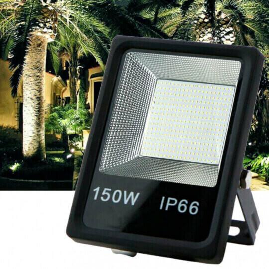 Refletor de Led Branco Frio SMD 150W 6500K Lux Power - TR-150WBF