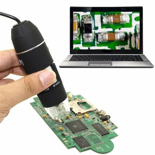 Microscópio Digital Usb Zoom 1000x Knup - KP-8012
