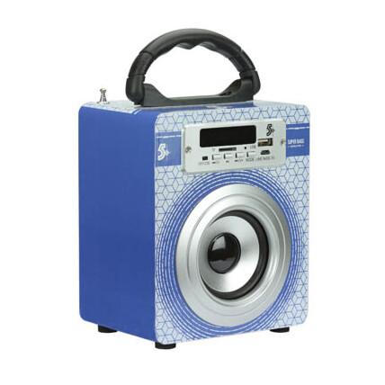 Caixa de Som Portátil - USB Bluetooth Super Bass 5w Chipsce - 030-0006