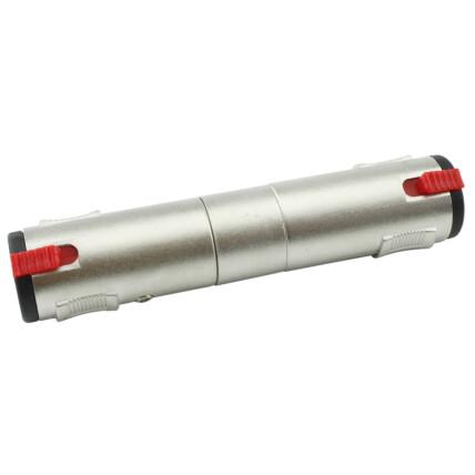 Conector Emenda - J10 Mono/Estéreo com Trava Metálico - 033-1016