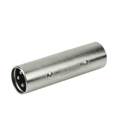 Conector Emenda XLR Macho para XLR Macho Cannon - 033-8616