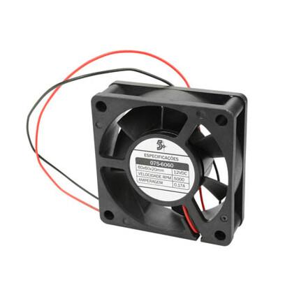 Cooler - Micro Ventilador 60 x 60 x 20 mm 12v - 075-6060
