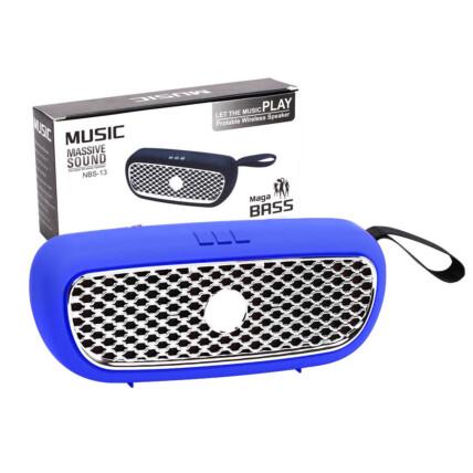 Caixa de Som Bluetooth D-B Multimídia Usb/TF SD/Aux/FM - 03432 - NBS-13