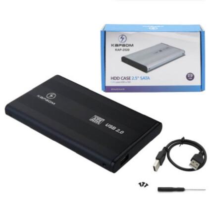 Case para HD e SSD 2.5 polegadas Usb 2.0 - KAP-2520