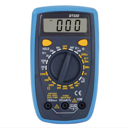 Multímetro Digital Portátil 500V Registrador Knup - KP-AA033