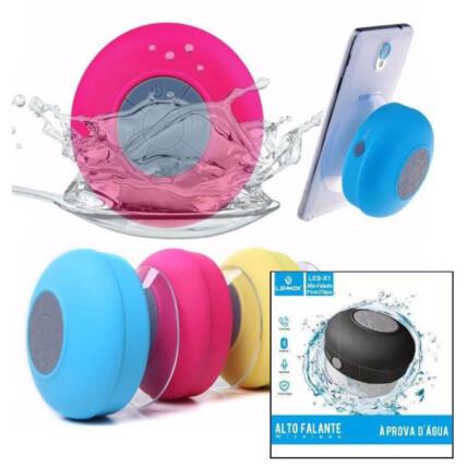 Caixa de Som Bluetooth à Prova d Água Lehmox -  LES-X1