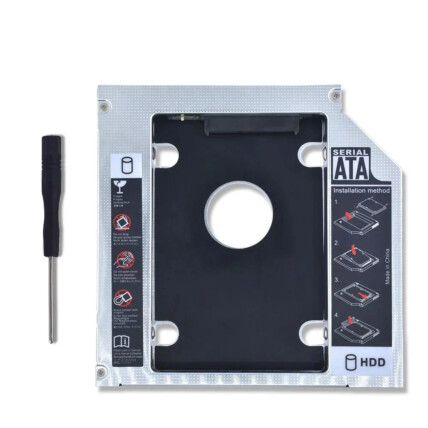 Adaptador SSD Para HDD Caddy Gaveta Universal 12.7mm xTrad - XT2153