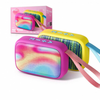 Caixa de Som Bluetooth FM USB SD Multimídia Fashion Exbom - CS-M22BT