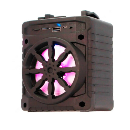 Caixa de Som Portátil Bluetooth / Usb 15,5 X11,5 X8cm Knup AL-302