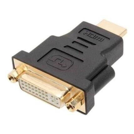 Conector Adaptador DVI d 24.1 F x HDMI m Banhado a Ouro - DEX