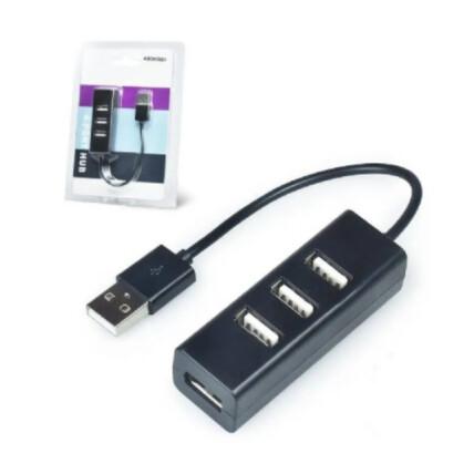 Hub Usb 2.0 4 Portas Portátil Slim 480mbps Exbom - 02490/168