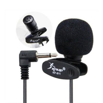 Microfone de Lapela para Youtubers Knup  - KP-911