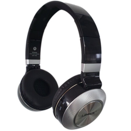 Fone De Ouvido Headphone Bluetooth Wireless Dobrável LEHMOX - LEF-1015