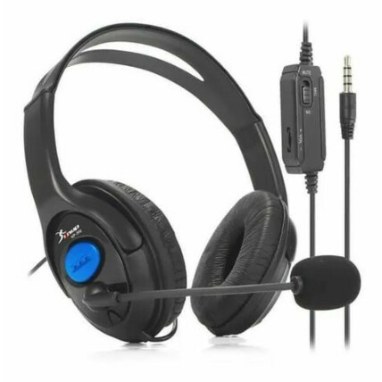 Fone de Ouvido para Ps4 Headset com Microfone - KP-352