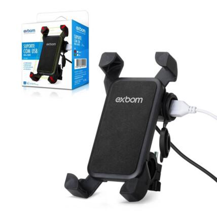 Suporte de Smartphone para Motos de 4.5 a7.5 Polegadas Exbom - SP-CA54