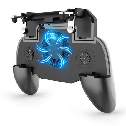 Joystick Gamepad para Smartphone com Cooler Knup - KP-9015