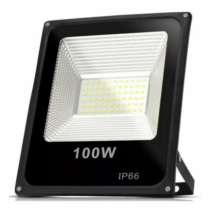 REFLETOR DE LED BRANCO FRIO SMD 100W 6500K LUX POWER - TR-100WBF