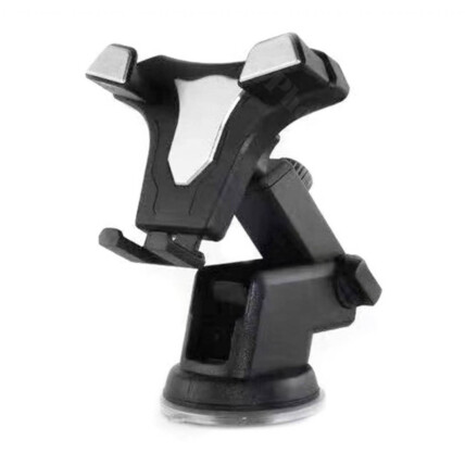 Suporte Veicular para Smartphone e Gps Retrátil Com Base Silicone - JB-720