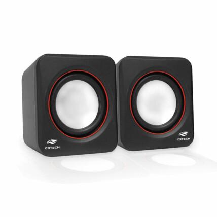 Caixa de Som Speaker Usb 2.0 para PC e Notebook C3Tech - SP-301BK