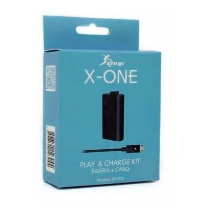 Bateria + Carregador para Controle X-One KP-5128