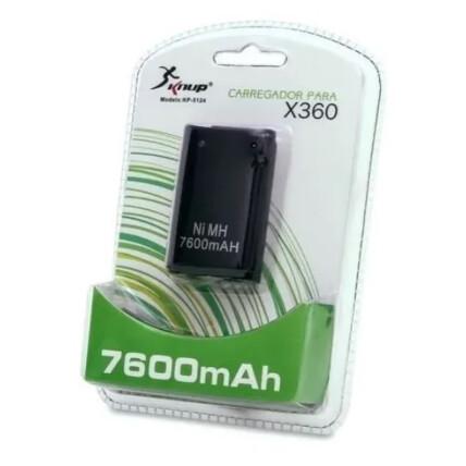Bateria com Carregador para Controle X-360 - KP-5124
