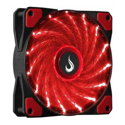 Cooler Fan Rise Mode Wind W1 Led Vermelho 120mm - RM-WN-01-BR