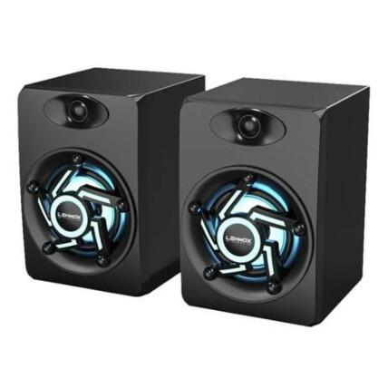 Caixa de Som Gamer Led RGB P2 para PC LEHMOX - GT-S1