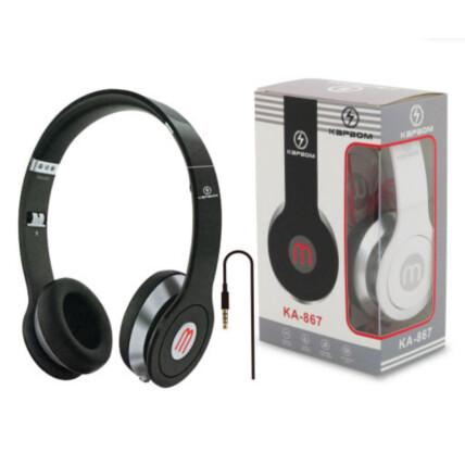 Headphone Dobrável com Fio P2 3.5mm - KA-867