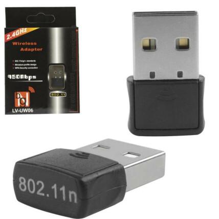 Adaptador Wireless Usb Wifi 150mbps - UW06 LV - AD0001-