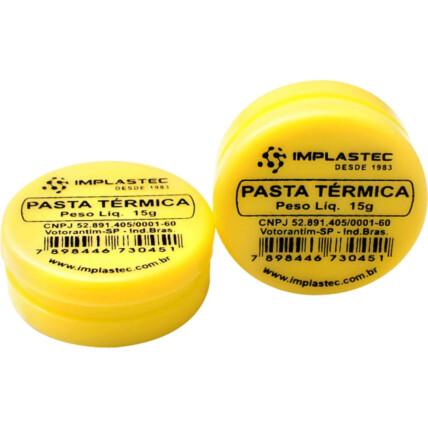 Pasta Térmica 15g Pote Implastec - IMP0007