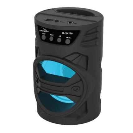 Caixa de Som Bluetooth Usb Portátil 19x12x12cm Grasep - D-S4130