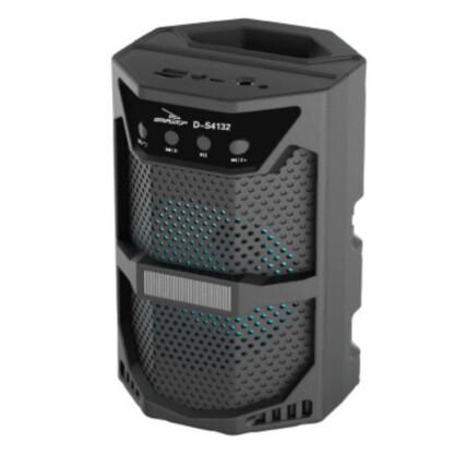 Caixa de Som Bluetooth Usb Portátil 19x12x12cm Grasep - D-S4132