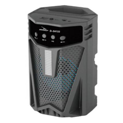 Caixa de Som Bluetooth Usb Portátil 19x12x12cm Grasep - D-S4133