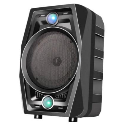 Caixa de Som Bluetooth Usb Portátil 34x21x17cm com Microfone Grasep - D-BH6103