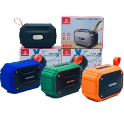 Caixa de som Bluetooth Alto Falante Portátil com Alça - KA-8508