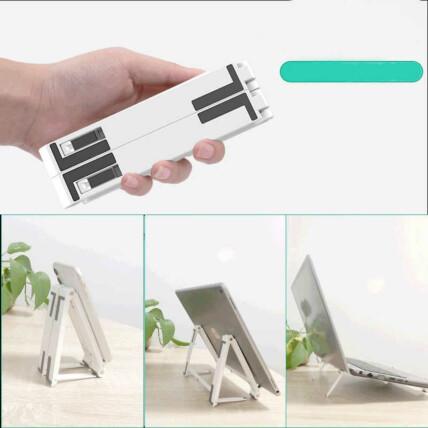 Suporte 3 em 1 Base para Notebook  Tablet e Celular Ajustável - BMG-40