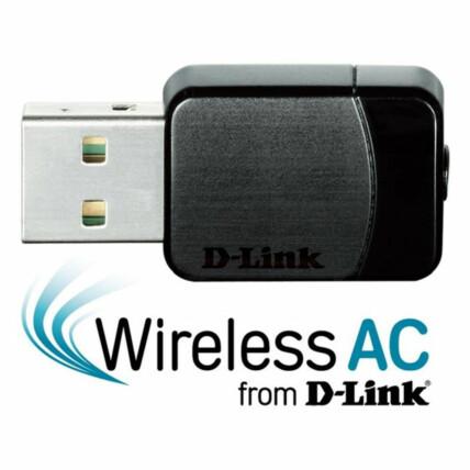 Adaptador Wireless 11AC D-Link Nano Dual-Band USB - DWA-171