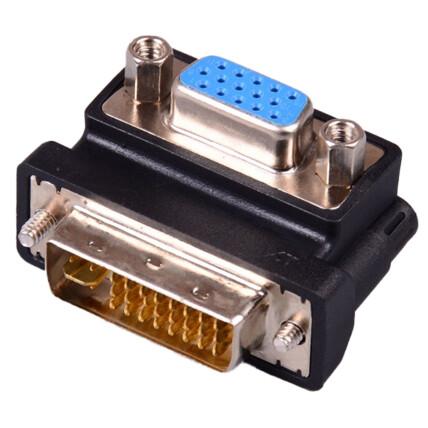 Adaptador DVI-D (24+5) Macho para VGA Fêmea PC Notebook Projetor EXBOM - 03123