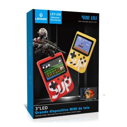 Mini Vídeo Game Portátil Retro com 400 Jogos Lehmox - LEY-238