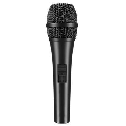 Microfone Profissional com Fio 1M Knup - KP-M0016