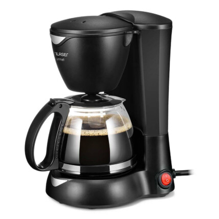 Cafeteira Elétrica Multilaser Gourmet 127V 200W para 15 Xícaras com Filtro Permanente Preta - BE01