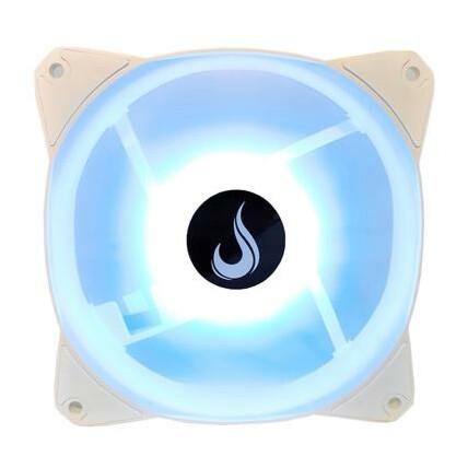 Cooler FAN Rise Mode, 120mm, Led RGB, Branco - RM-MB-02-5V