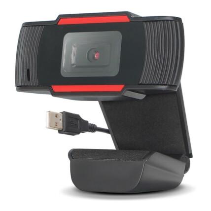 Webcam HD 720p com Microfone Embutido USB P2 KNUP - KP-CW100