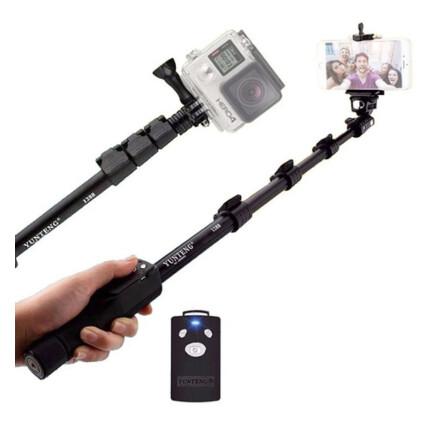 Bastão Selfie Monopod Profissional Yunteng YT-1288 Retrátil - RG-007