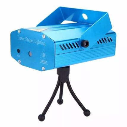 Mini Projetor Holográfico Led Canhão Laser com Efeito para Festas XZHANG - SD-09